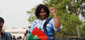 Mariam Sankara retrouve les siens