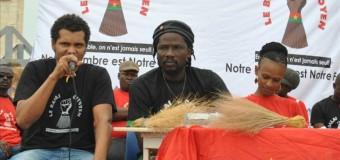 PROCÈS DES PRÉSUMÉS PUTSCHISTES DU 15 SEPTEMBRE 2015: Le Balai citoyen sur ses gardes