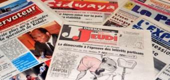 DÉLITS DE PRESSE AU BURKINA : 500 000 à 3 000 000 d'amendes
