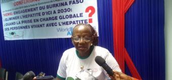 LUTTE CONTRE L'HÉPATITE VIRALE  AU BURKINA : SOS hépatites Burkina interpelle l'Etat