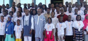 EXCELLENCE A L'ÉCOLE: Le président du Faso  Encourage les plus méritants
