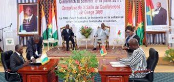 Burkina Faso-Cote d'Ivoire : Le 6e TAC accouche de 11 accords de coopération