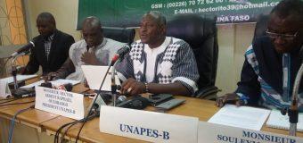 ACCORD GOUVERNEMENT-SYNDICATS DE L'ÉDUCATION : «La parole donnée doit être respectée»,  Hector Ardent Raphaël  Ouédraogo, président de UNAPES-B