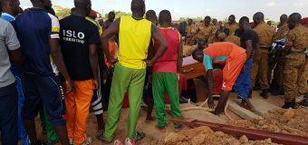 MORT D'UN SOLDAT BURKINABÈ AU MALI: Que de vives émotions au cimetière de Gounghin