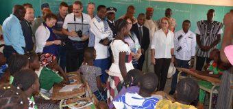 GOUVERNEURE GÉNÉRALEDU CANADA AU BURKINA: Une immersion dans l'écoleburkinabé