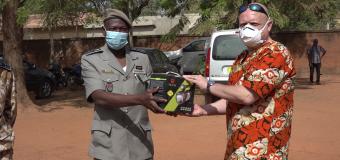 DIRECTION DE LA MIGRATION DE LA POLICE NATIONALE: SOMISA fait don d'un important lot de matériels
